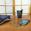 Cortrea Micro USB Katlanabilir Metal Kısa Data Kablosu 14cm - Resim 2