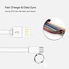 Cortrea Micro USB Gri Kısa Data Kablosu 9cm - Resim 3