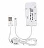 Cortrea Micro USB Beyaz Hub ve Kart Okuyucu - Resim 2