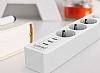 Cortrea Multi Plug 3lü Priz ve 3lü USB Port 2m - Resim 8