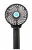 Eiroo Şarjlı Siyah El Fanı
