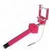 Cortrea Universal Dudaklı Tuşlu Kırmızı Selfie Çubuğu - Resim 3