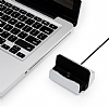 Eiroo Universal Micro USB Masaüstü Dock Rose Gold Şarj Aleti - Resim 8