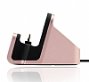 Eiroo Universal Micro USB Masaüstü Dock Rose Gold Şarj Aleti - Resim 5