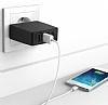 Cortrea USB 4 Port Girişli Beyaz Ev Şarj Adaptörü - Resim 3