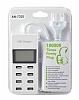 Cortrea USB Çoklu Şarj Aleti Dijital Göstergeli 8 Port Girişli - Resim 1