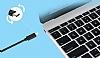Cortrea USB Type-C Siyah Data Kablosu 2m - Resim 3
