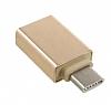 Cortrea USB Type-C OTG Dönüştürücü Gold Adaptör - Resim 1