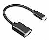 Cortrea USB Type-C OTG Siyah Dönüştürücü Adaptör