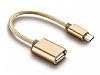 Cortrea USB Type-C OTG Gold Dönüştürücü Adaptör