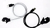 Cortrea USB Type-C Stand Özellikli Metal Kısa Siyah Data Kablosu 57cm - Resim 6