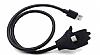 Cortrea USB Type-C Stand Özellikli Metal Kısa Siyah Data Kablosu 57cm - Resim 3