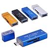 Cortrea USB Type-C ve Micro USB Silver Kart Okuyucu - Resim 1