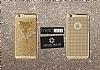 Crystal Dream Metalico iPhone 6 / 6S Leopar Taşlı Kılıf - Resim 1