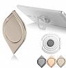Dafoni 360 Derece Dönerli Metal Silver Yüzük Tutucu - Resim 4