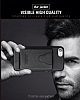 Dafoni Air Jacket iPhone 7 / 8 Cüzdanlı Siyah Deri Kılıf - Resim 6