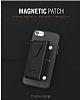 Dafoni Air Jacket iPhone X Cüzdanlı Gold Deri Kılıf - Resim 4