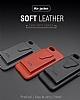 Dafoni Air Jacket Samsung Galaxy Note 8 Cüzdanlı Kırmızı Deri Kılıf - Resim 2