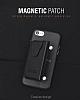 Dafoni Air Jacket Samsung Galaxy S8 Cüzdanlı Siyah Deri Kılıf - Resim 5