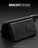 Dafoni Air Jacket Samsung Galaxy S8 Cüzdanlı Siyah Deri Kılıf - Resim 2