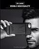 Dafoni Air Jacket Samsung Galaxy S8 Cüzdanlı Kahverengi Deri Kılıf - Resim 4