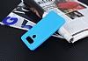 Dafoni Air Slim LG G6 Ultra İnce Mat Mavi Silikon Kılıf - Resim 4