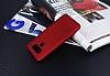 Dafoni Air Slim LG G6 Ultra İnce Mat Kırmızı Silikon Kılıf - Resim 4