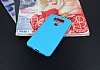 Dafoni Air Slim LG G6 Ultra İnce Mat Mavi Silikon Kılıf - Resim 3