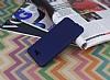 Samsung Galaxy J7 Prime Ultra İnce Mat Lacivert Silikon Kılıf - Resim 2
