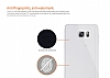 Dafoni Aircraft Samsung Galaxy Note 5 Ultra İnce Lacivert Silikon Kılıf - Resim 3