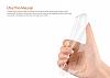 Dafoni Aircraft Samsung Galaxy Note 8 Ultra İnce Şeffaf Mavi Silikon Kılıf - Resim 5