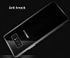 Dafoni Aircraft Samsung Galaxy Note 8 Ultra İnce Şeffaf Mavi Silikon Kılıf - Resim 1