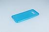 Dafoni Aircraft Samsung Galaxy S8 Plus Ultra İnce Şeffaf Mavi Silikon Kılıf - Resim 1