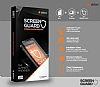 Dafoni Alcatel One Touch Pop C7 Tempered Glass Premium Cam Ekran Koruyucu - Resim 5