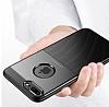Dafoni Business Shield iPhone 7 Plus / 8 Plus Kahverengi Silikon Kılıf - Resim 6