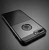 Dafoni Business Shield iPhone 7 Plus / 8 Plus Kahverengi Silikon Kılıf - Resim 3