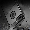 Dafoni Business Shield iPhone 7 Plus / 8 Plus Kahverengi Silikon Kılıf - Resim 2
