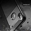 Dafoni Business Shield iPhone X Lacivert Silikon Kılıf - Resim 3