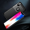 Dafoni Business Shield iPhone X Lacivert Silikon Kılıf - Resim 5