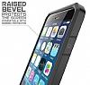 Dafoni Color Side iPhone 6 / 6S Kristal Kırmızı Kılıf - Resim 4