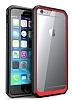 Dafoni Color Side iPhone 6 / 6S Kristal Kırmızı Kılıf - Resim 2