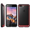 Dafoni Color Side iPhone 7 Plus / 8 Plus Kristal Pembe Kılıf - Resim 3