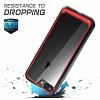 Dafoni Color Side iPhone 7 Plus / 8 Plus Kristal Pembe Kılıf - Resim 2