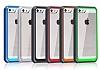 Dafoni Color Side iPhone SE / 5 / 5S Kristal Mavi Kılıf - Resim 4