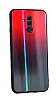 Dafoni Colorful Huawei Mate 20 Lite Cam Kırmızı Kılıf