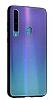 Dafoni Colorful Samsung Galaxy A7 2018 Cam Yeşil Kılıf