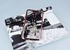 Dafoni Crystal Dream General Mobile GM 5 Plus Taşlı Düş Kapanı Rose Gold Kenarlı Silikon Kılıf - Resim 2