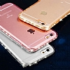 Dafoni Crystal Dream iPhone 6 / 6S Taşlı Şeffaf Silikon Kılıf - Resim 10