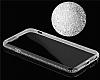 Dafoni Crystal Dream iPhone 6 / 6S Taşlı Şeffaf Silikon Kılıf - Resim 7