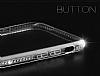 Dafoni Crystal Dream iPhone 6 / 6S Taşlı Şeffaf Silikon Kılıf - Resim 2